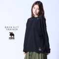 moz FOREST LABEL バックスリットトレーナー◆