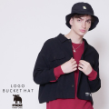 moz FOREST LABEL  ロゴバケットハット◆