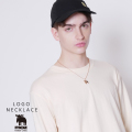 moz FOREST LABEL  ロゴネックレス◆