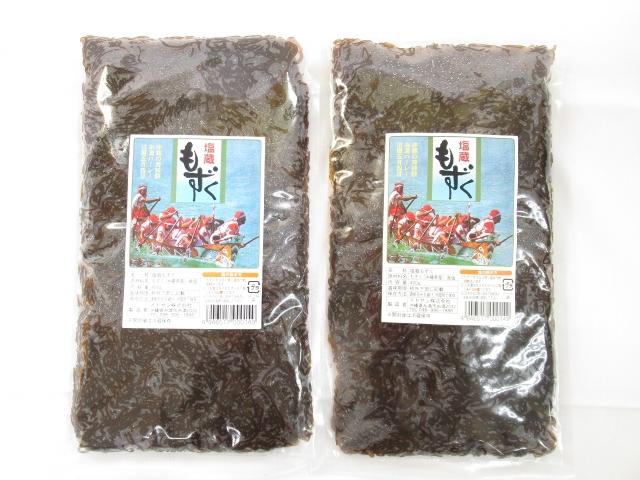 沖縄の塩もずく