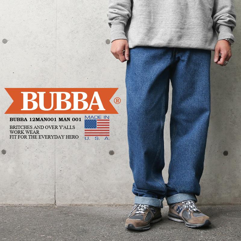 BUBBA ババ 12MAN001 デニムパンツ MADE IN USA
