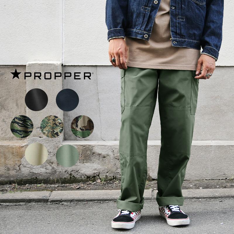 PROPPER プロパー F525025 リップストップ BDU トラウザーパンツ ジッパーフライ
