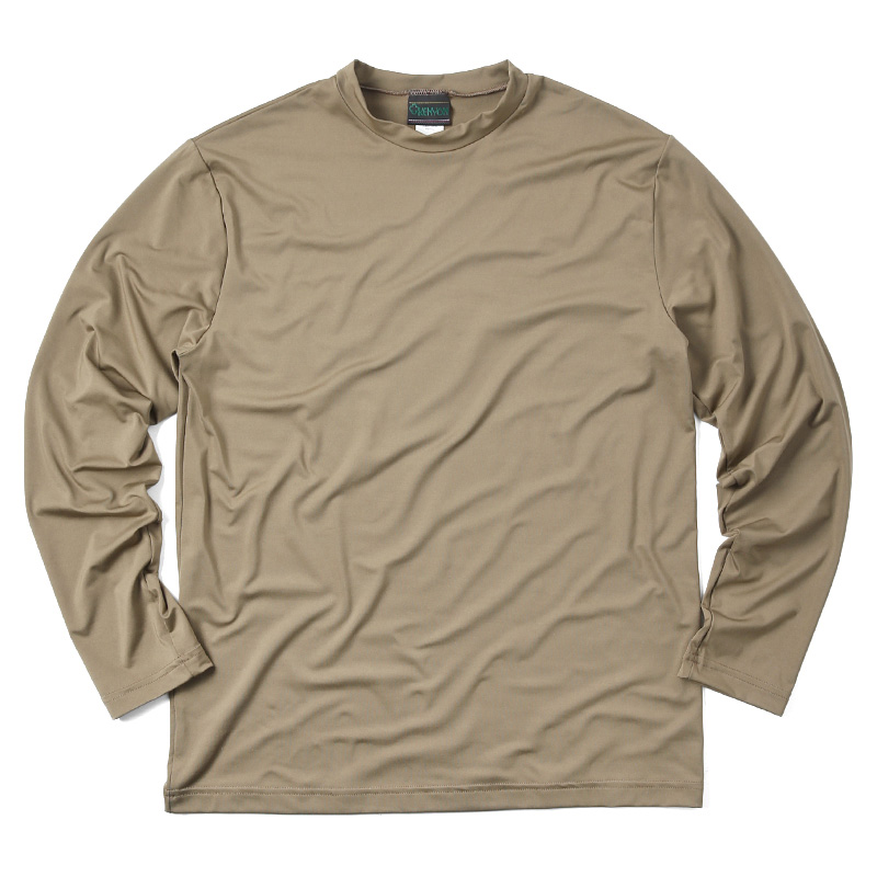 KENYON MADE IN USA 米軍使用 PCU LEVEL1 ロングTシャツ COYOTE