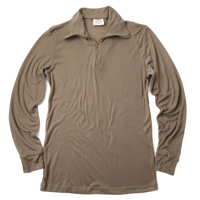 実物 新品 米軍 アンダーシャツ ブラウン LWCWUS