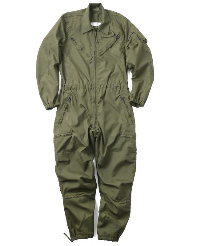 実物 新品 米軍ノーメックス CVCタンカーカバーオール