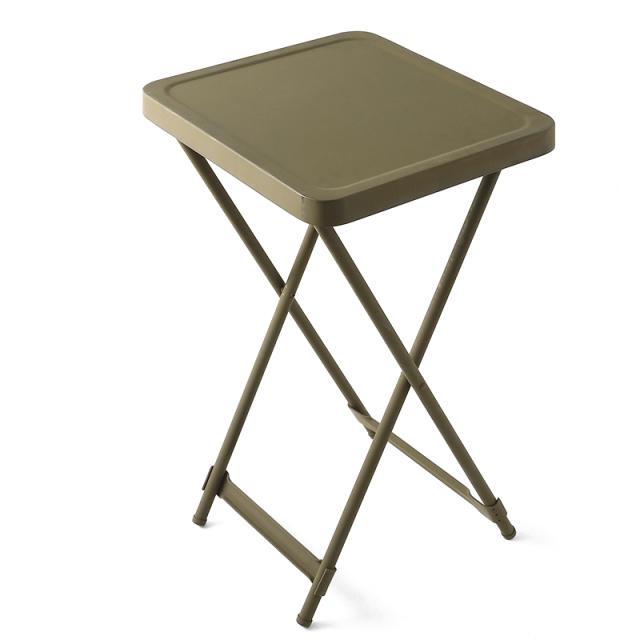実物 新品 米軍BEDSIDE METAL FOLDING テーブル