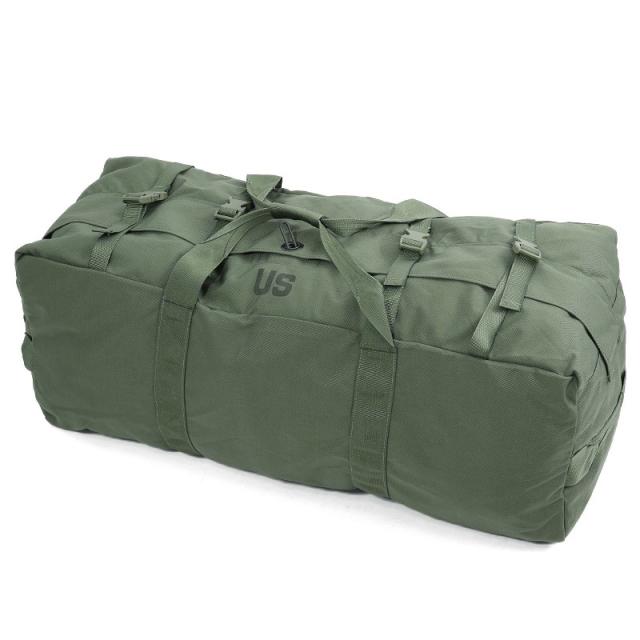 実物 新品 米軍トランスポートダッフルバッグ OD #1