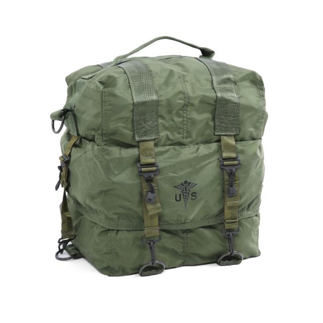 実物 新品 米軍M17 メディックバッグ OD