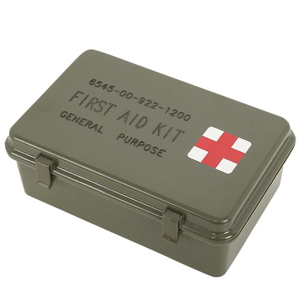 実物 新品 米軍FIRST AID KIT MEDICALボックス