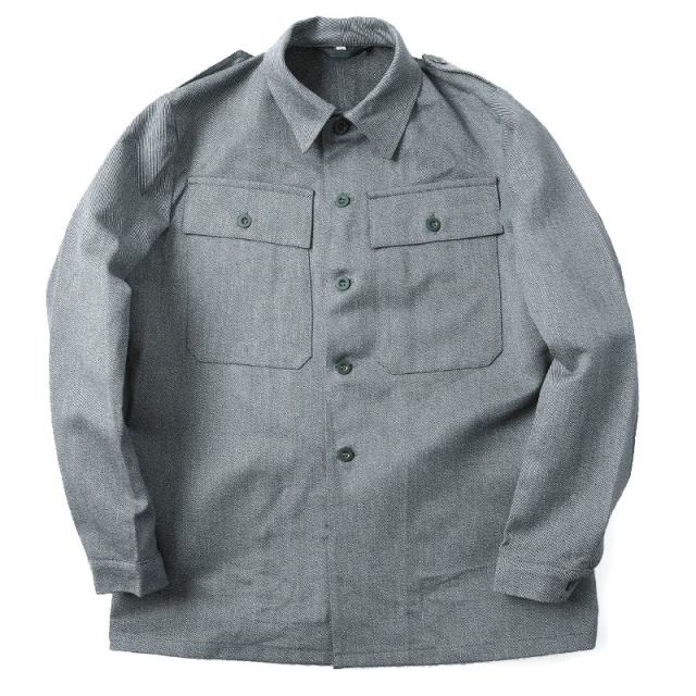実物 新品 スイス軍後期型デニムワークジャケット