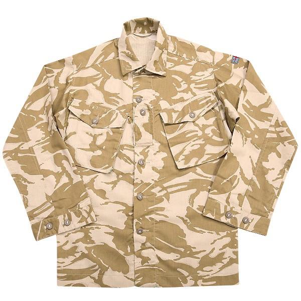 実物 新品 イギリス軍TROPICAL COMBAT ジャケット デザートDPMカモ