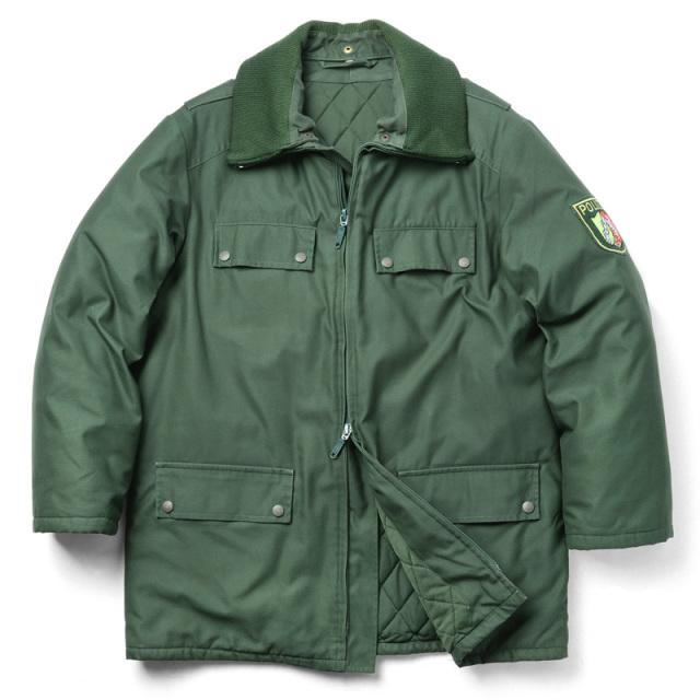 実物 ドイツBGS(連邦国境警備隊) MODEL 1 ジャケット W/LINER USED