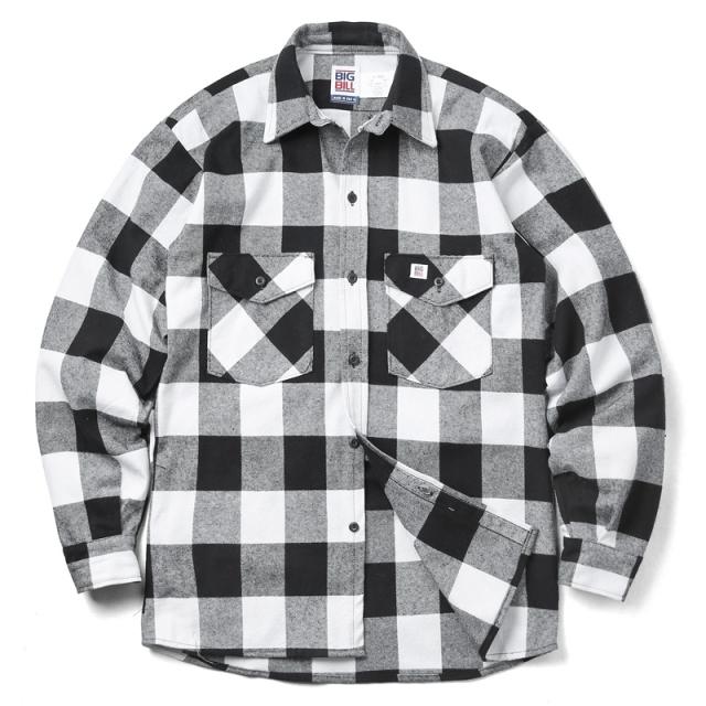 BIG BILL 121 L/S 9oz Premium Brawny Flannel ヘビーウェイト ワークシャツ バッファローチェック MADE IN USA