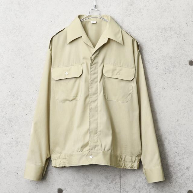 実物 新品 デッドストック チェコ軍 ライトウェイト ワーク シャツジャケット