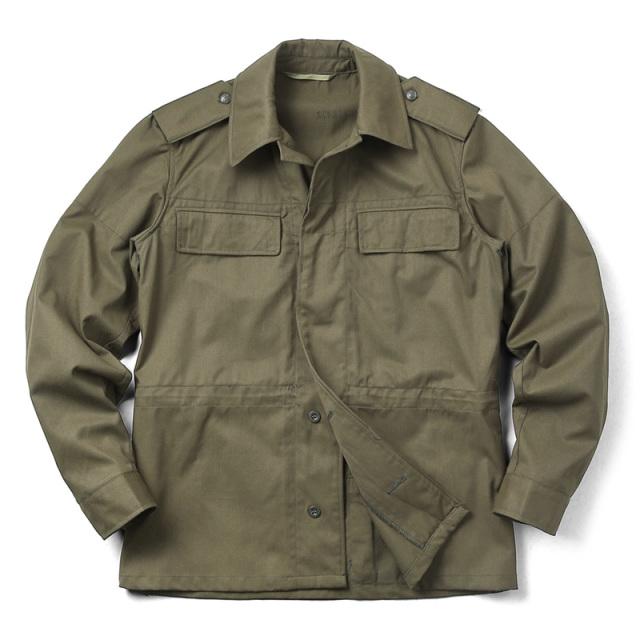 実物 新品 チェコ軍 M-85 ジャケット オリーブ バックポケット付き