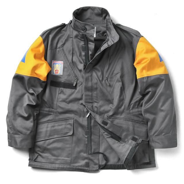 実物 新品 デンマーク CIVILFORSVARET 民間防衛 フィールドジャケット