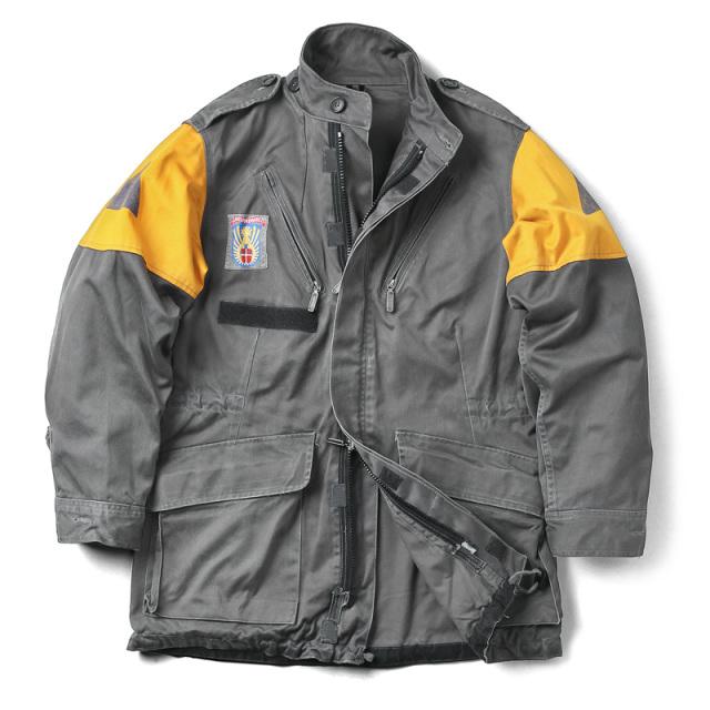 実物 USED デンマーク CIVILFORSVARET 民間防衛 フィールドジャケット