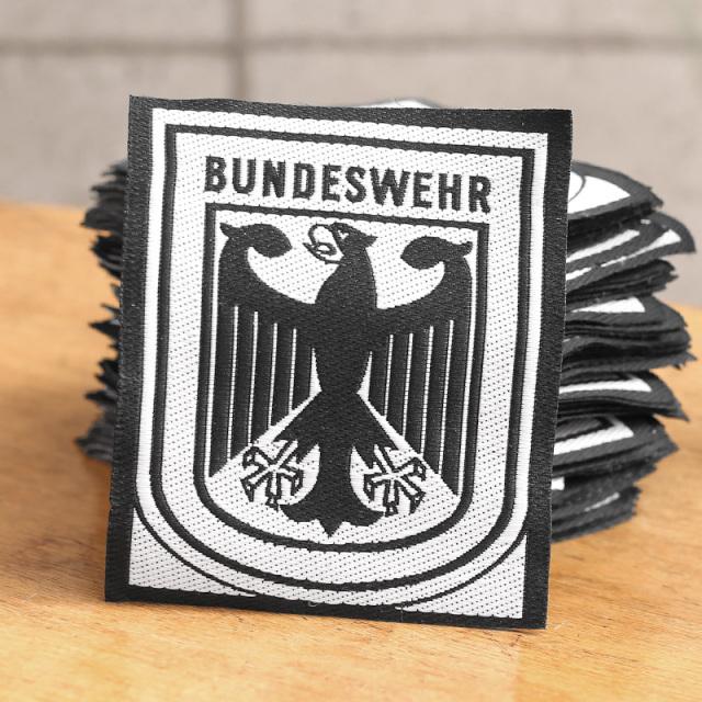 実物 新品 デッドストック ドイツ軍 BUNDESWEHR パッチ(ワッペン)ブラックフレーム