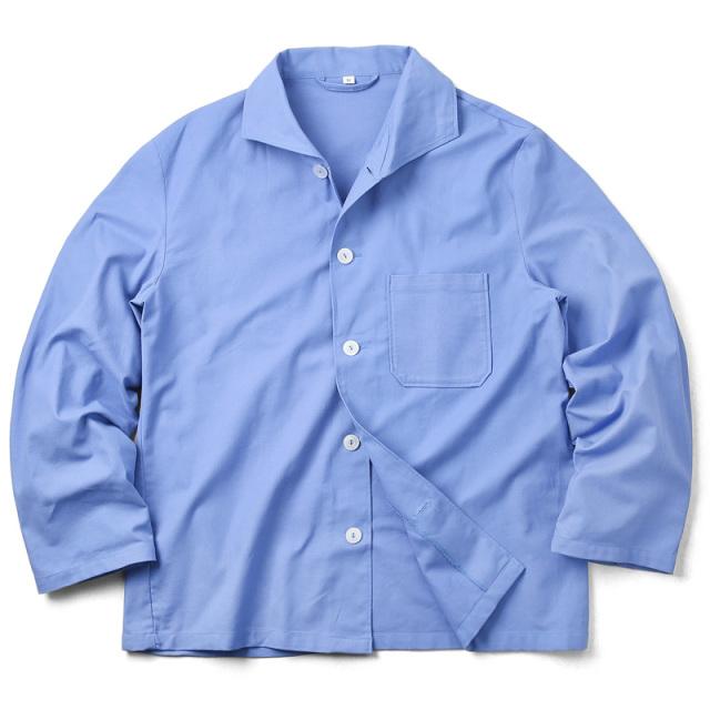 【期間限定50%OFF】実物 新品 ドイツ軍 パジャマシャツ ライトブルー