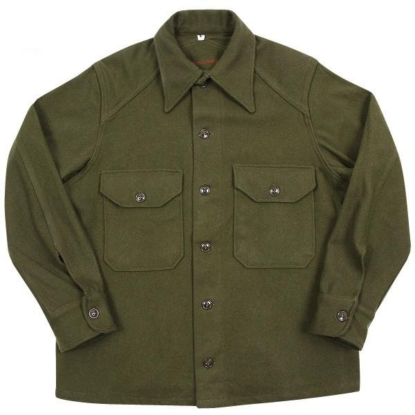 実物 新品 米軍ヴィンテージウールシャツ OG-108
