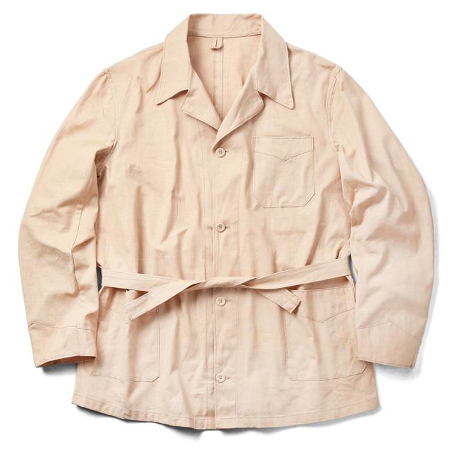 実物 新品 ギリシャ軍 コットン スリーピング シャツジャケット