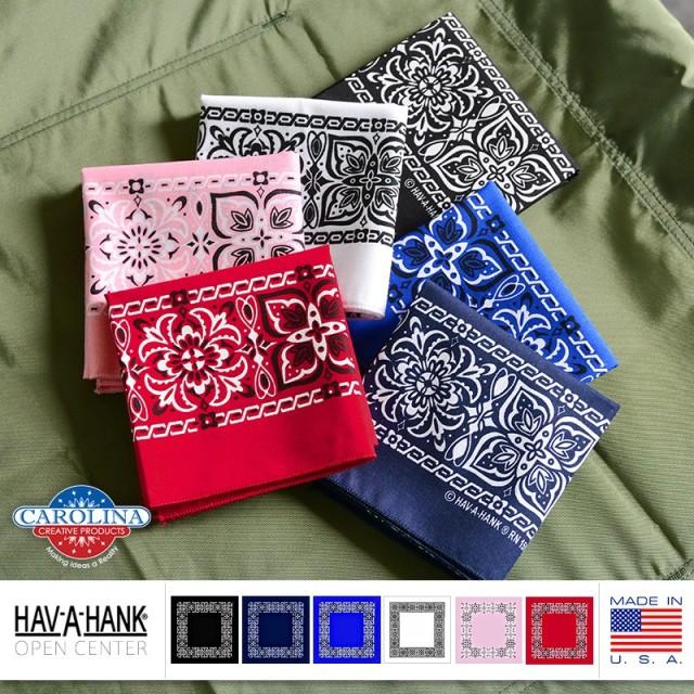 HAV-A-HANK MADE IN U.S.A. オープンセンターバンダナ
