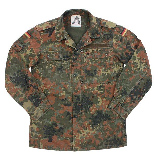 実物 西ドイツ軍フレック迷彩ジャケット