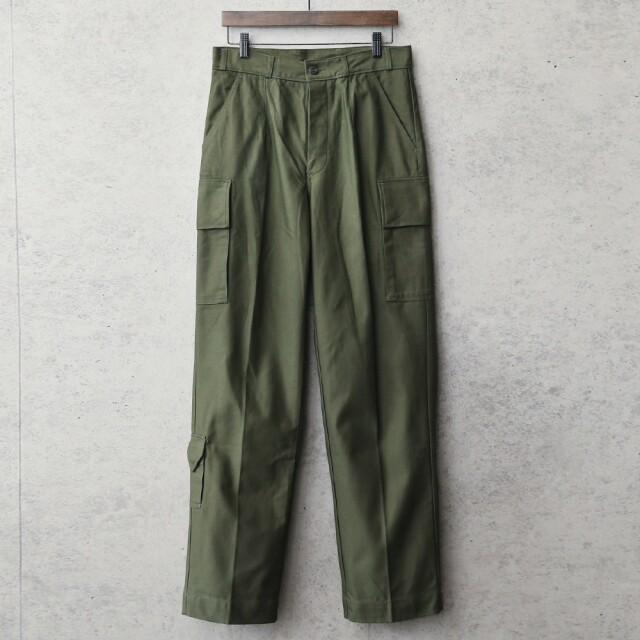 実物 新品 デッドストック オランダ軍 フィールドカーゴパンツ ナイフポケット付き