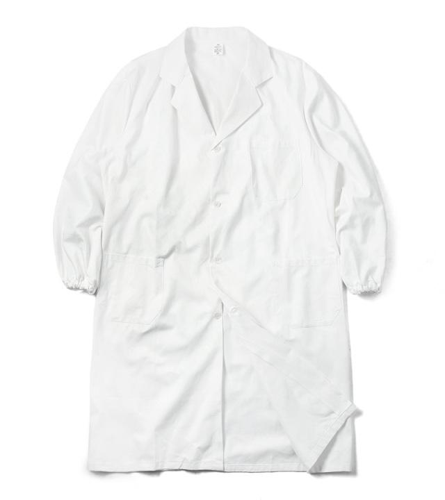 実物 新品 イタリア軍 コットンツイル ワークコート ホワイト