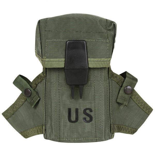 実物 新品 米軍 M-16 30連 マガジンポーチ OD