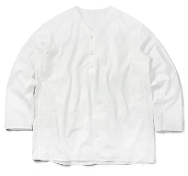 実物 新品 ロシア軍 80s ヘンリーネック スリーピングシャツ