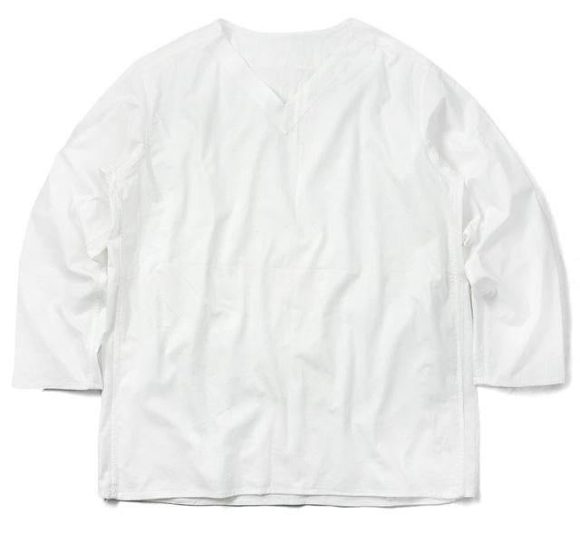 実物 新品 ロシア軍 80s Vネック スリーピングシャツ