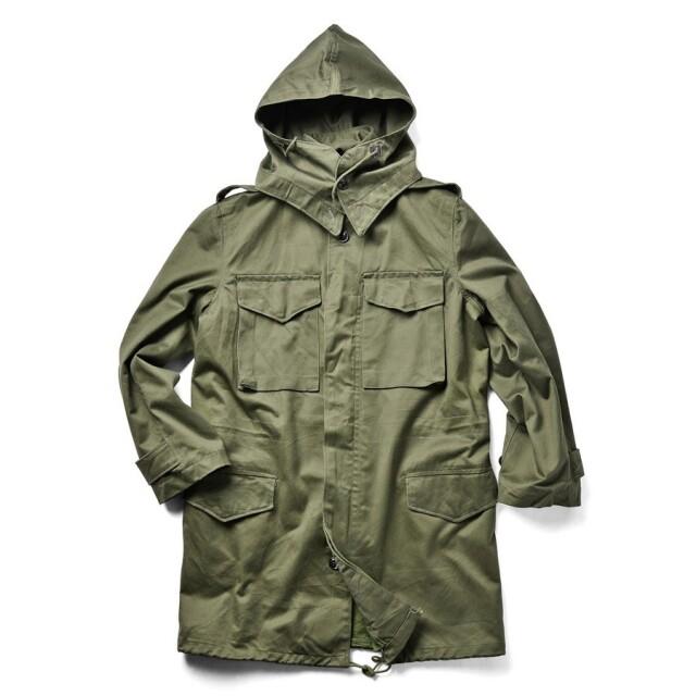 実物 ギリシャ軍 フィールドジャケット ジップフロント USED