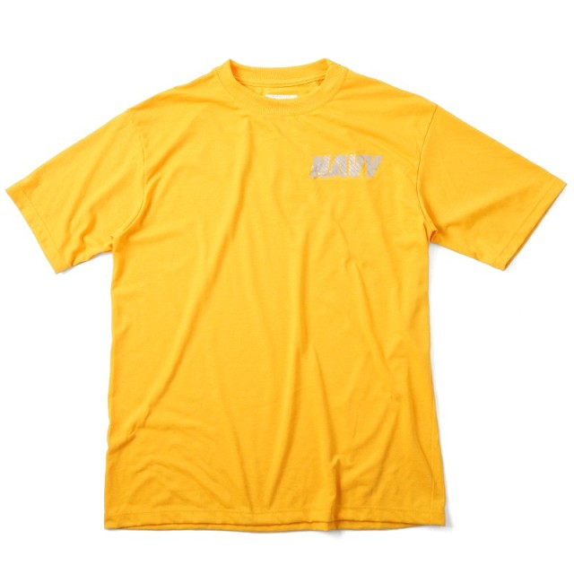 実物 新品 米軍U.S.NAVY 最新トレーニング用 Tシャツ