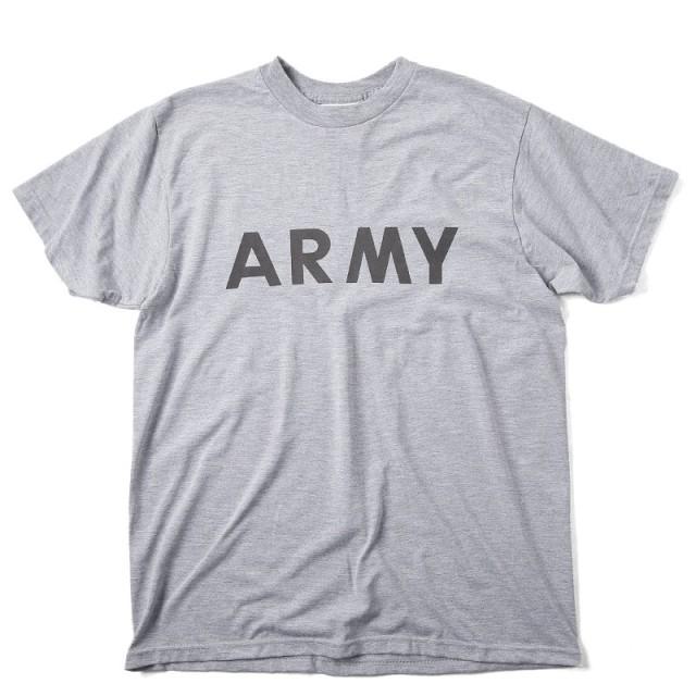 実物 新品 米軍IPFU ARMY Tシャツ バックプリント入り