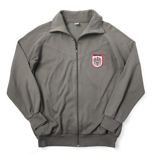 実物 オーストリア軍トレーニングジャケット WHITEパッチ