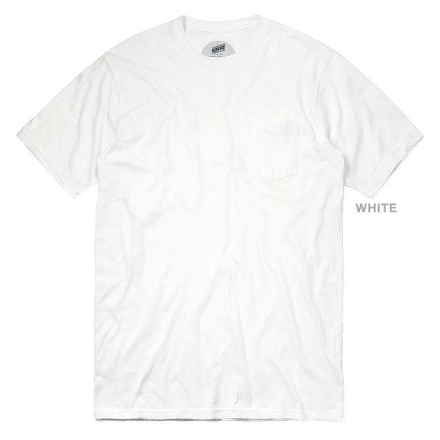 SOFFE TS-197 半袖 クルーネック ポケットTシャツ