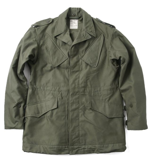 実物 新品 オランダ軍 NATO フィールドジャケット OD