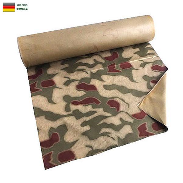 実物 新品 ドイツBGS(連邦国境警備隊) ウォーターカモ マテリアルロール 生地 ファブリック ミリタリー