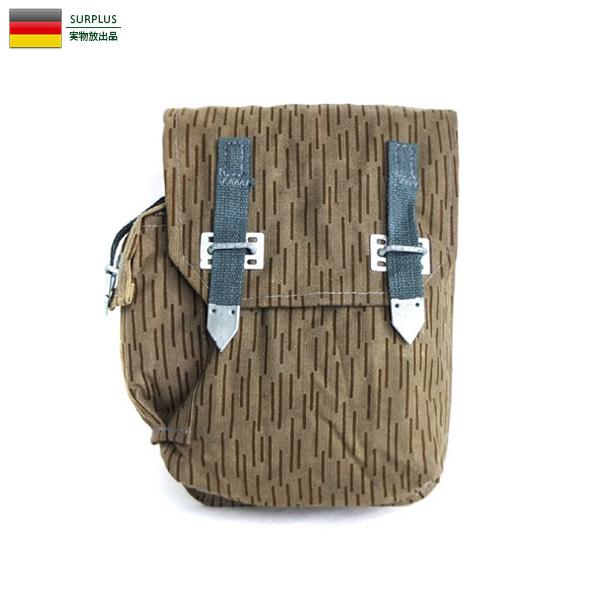 実物 新品 東ドイツ軍 AK マガジンポーチ レインドロップカモ ミリタリー