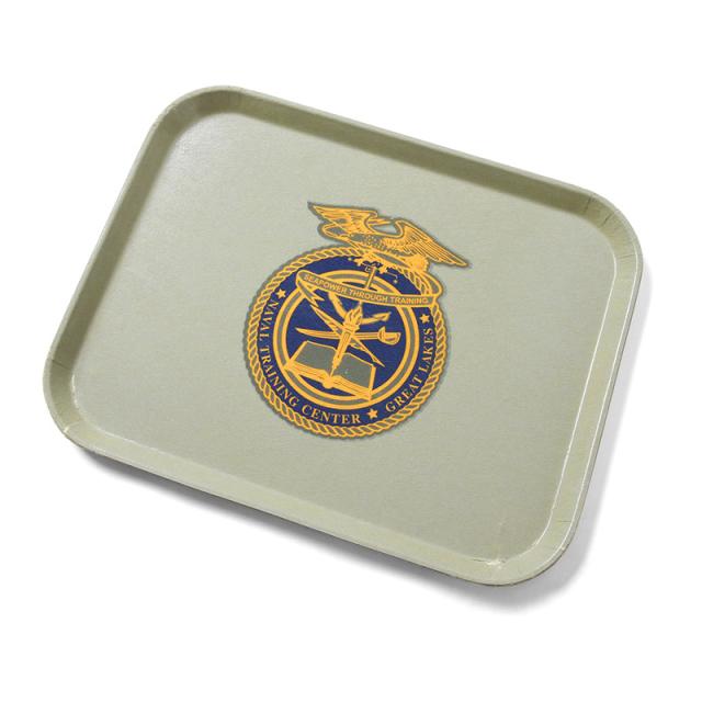 実物 米軍 U.S. NAVAL TRAINING CENTER フードトレイ