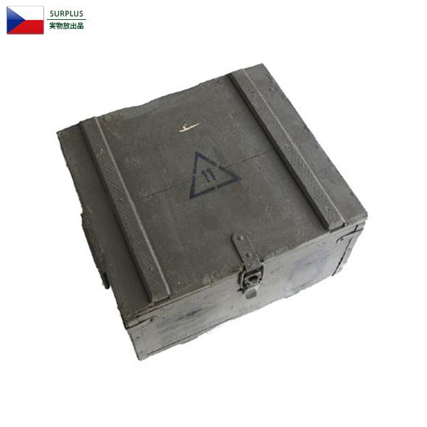 実物 USED チェコ軍 アミニッション ウッドボックス ミリタリーショップ 通販 軍放出品