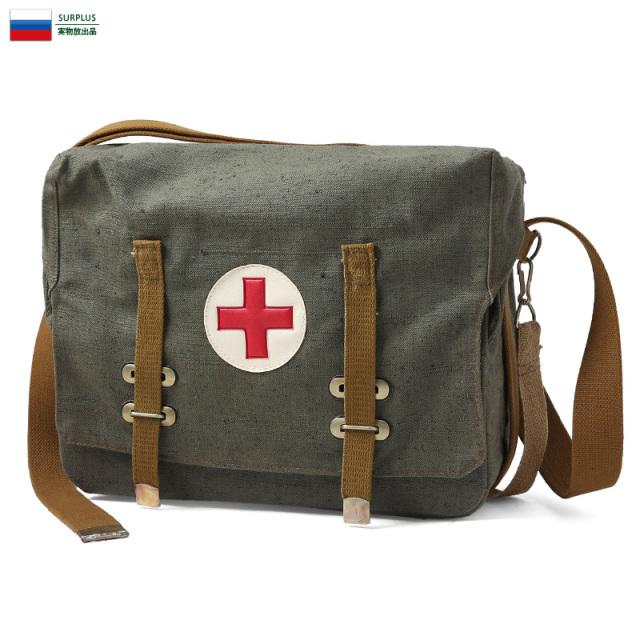 実物 新品 ソビエト連邦軍(ロシア軍) ファーストエイド メディカルバッグ