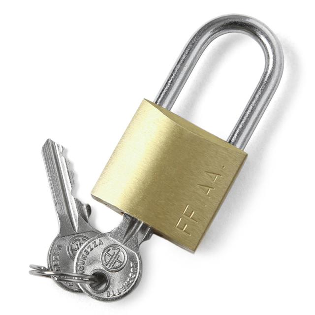 実物 新品 イタリア軍 METAL PADLOCK(メタル パドロック)南京錠