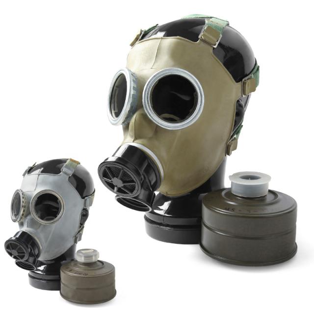 実物 新品 ポーランド軍 MC-1 ガスマスク