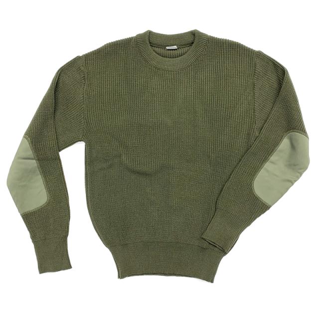 実物 新品 スペイン軍 コマンドセーター(肩当て布なし)