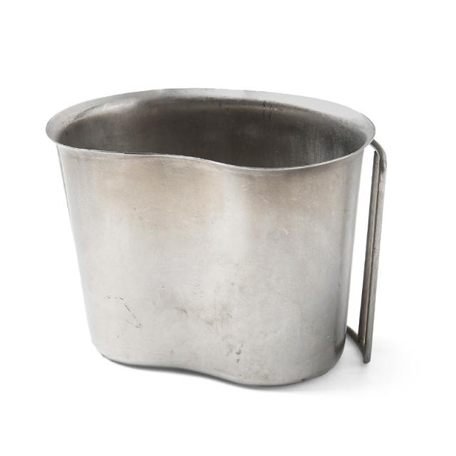 実物 USED 米軍 1QTキャンティーンカップ