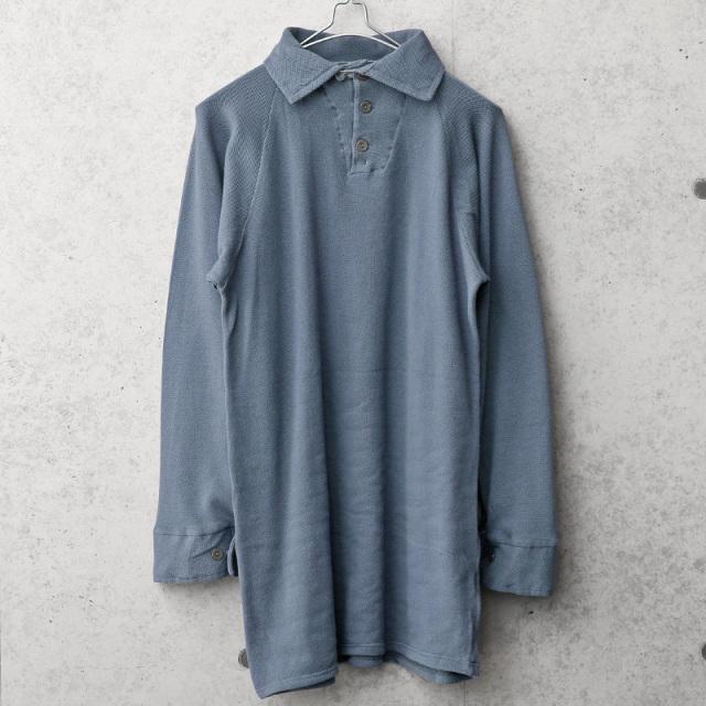 実物 USED デンマーク軍 コットンシャツ