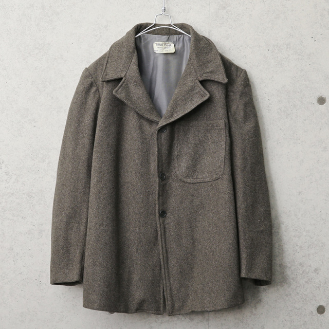 実物 USED イタリア プリズナー ウールジャケット