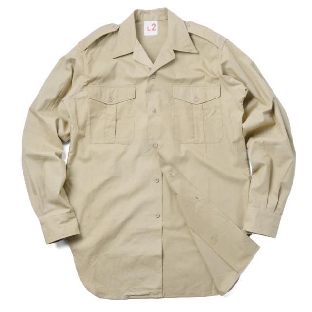 実物 フランス軍 M-47 チノシャツ